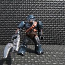 Halo Mega Bloks Minifigura Brute Azul