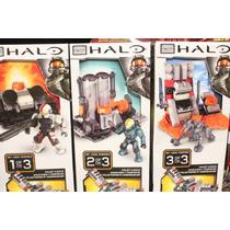 Megablocks Halo Set 1, 2 Y 3 De Booster Frame