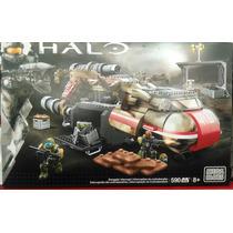 Mega Bloks Halo Smugler Intercept 590 Piezas Nuevo Exclusivo