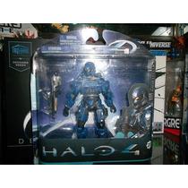 Halo 4 Spartan Soldier Soldado Azul Mcfarlane