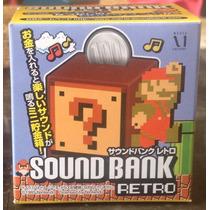 Alcancia Con Sonido Super Mario Bros Nintendo Mn4
