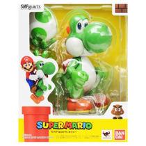 Figura Yoshi - Super Mario Bros Nintendo Bandai Videojuegos
