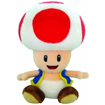 Peluche Oficial Hongo Toad De Super Mario Nintendo