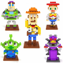 Set De 5 Figuras Armables Toy Story