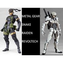 Snake, Raiden, Revoltech, Bandai, Figma