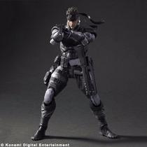Metal Gear Solid Snake Play Arts Kai Nuevo En Caja