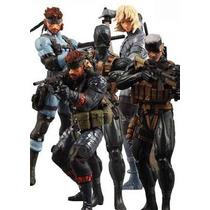 Figura Metal Gear Solid 20 Aniversario Konami Snake Raid Vv4