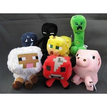 7 Peluches Minecraft Originales Creeper Pokemon Totoro Reyes