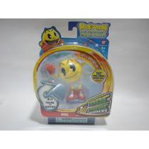 Mini Figura De Pac-man Nueva Incluye App Marca Bandai D 2013