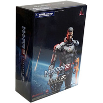 Figura Play Arts Videojuego Mass Effect 3 Comander Shepard