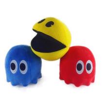 Peluches Pac-man Y Dos Fantasmas