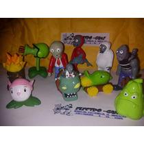 Zombies Vs Plantas*figuras De Coleccion 10 Personajes* Dmm