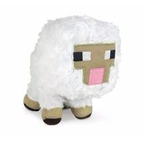 Muñeco De Peluche Minecraft Baby Sheep Licencia Oficial