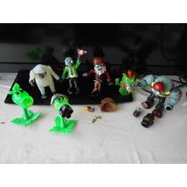Plantas Vs Zombies,minicoleccion De 7 Figuras $499 Con Luz