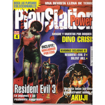 Revista Playstation Power Numero 4 Resident Evil Rm4
