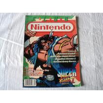 Revista Club Nintendo Super Street Fighter 2 Turbo Revival