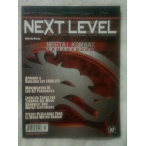 Next Level Año 1 No. 3 Mortal Kombat Armageddon Oportunidad!
