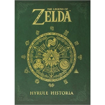 The Legend Of Zelda: Hyrule Historia En Ingles!