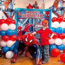 Poster Gigante Para Decoracion Fiesta De Spiderman