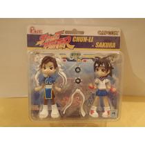 Pinky Street, Street Fighter, Chun-li X Sakura