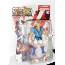Figura De Abel Colección De Street Fighter Iv Articulado 12