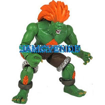 Capcom, Street Fighter, Blanka, Jazwares, 11 Cms