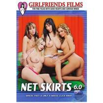 Net Skirts # 6 ( Nina Mercedez ) Lesbianas Lesbico Lesbian