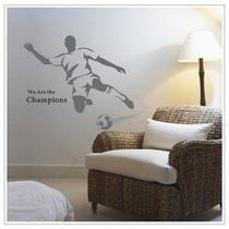 Vinilos Decorativos Para Tus Paredes Decoracion Hogar Futbol