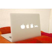 Vinil Decorativo Para Laptop Manzanas