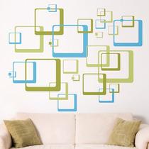 Increíble Vinilo Decorativo Cuadros Minimalistas Sticker