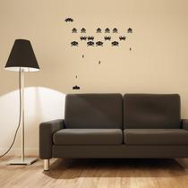Vinil Decorativo Space Invaders