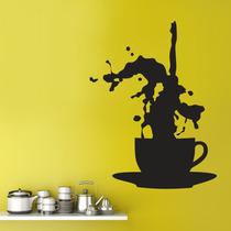 Vinil Decorativo Taza De Café