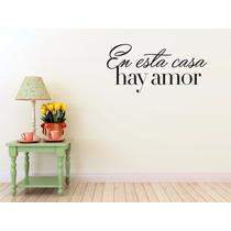 Vinil Decorativo Casa Amor Negro
