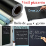 Rollo Vinil Pizarron Negro Para Gis 200 X 45 Cms Exclusivo!