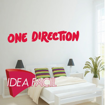 Vinilo Decorativo Música One Direction 200 B X 30 A