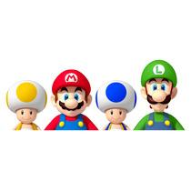 B Vinil Decorativo De Mario Bros P/ Habitación Infantil