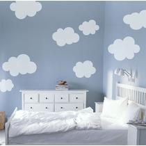 Hermoso Vinilo Decorativo Infantil Nubes
