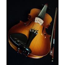 Violin Escal 4/4 Restler Estuche Arco Puente Y Brea