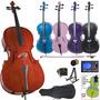 Cello Cecilio Con Accesorios 4/4 Chelo Hm4