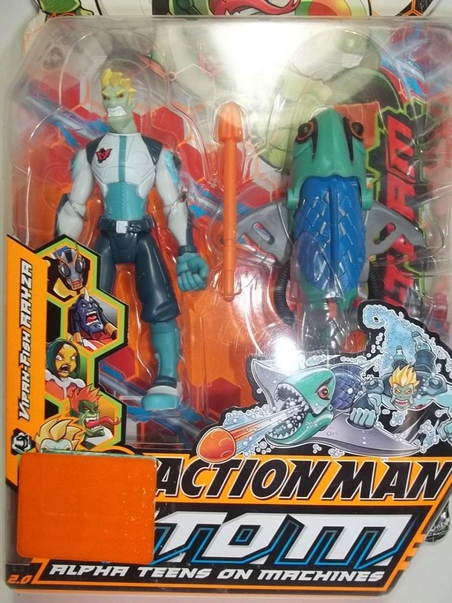 Action man atom action man 12 quot line