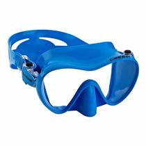 Cressi Mascara Visor F1 Azul Buceo Con Envio Gratis!!