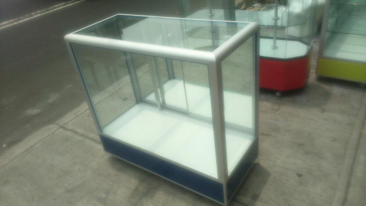 vitrina mostrador aluminio: