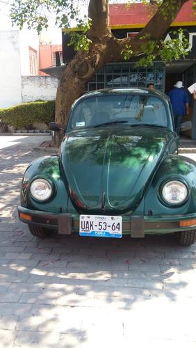 Volkswagen Sedan Modelo 2002, Color Verde