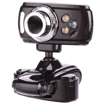 Cámara Webcam Hd Con Micrófono Usb Zoom Led Alta Resolución!