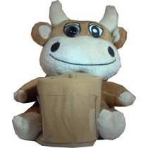 Camara Web Peluche Vaca 640x480 Usb Plug And Play Webcam Mp
