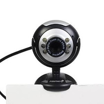 Fosmon Usb 6 Led Webcam Cámara Pc Plus + Visión Nocturna Msn