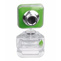 Cámara Web Webcam Usb Microfono 5mpx Pc Laptop Computadora