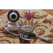Webcam Logitech Sin Microfono Con Puerto Usb