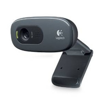 Logitech Hd Webcam C270, 720p Widescreen Videollamadas Y Gra