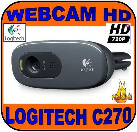 Webcam Hd Logitech C270 Nueva En Caja Alta Definicion